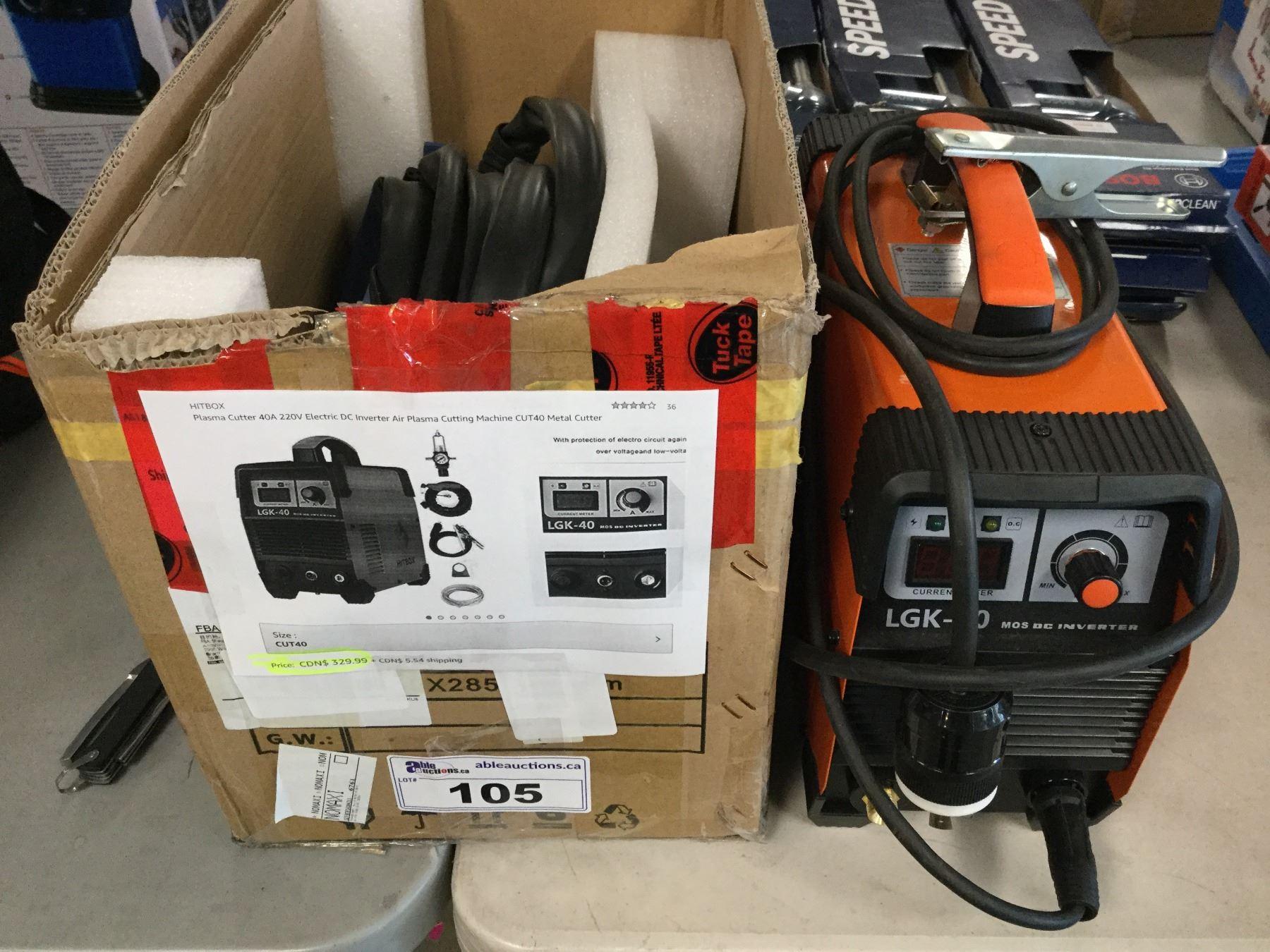 HITBOX CUT40 Plasma Cutter 40A 220V DC Air Plasma Metal Cutter Cutting Machine