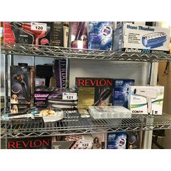 CONAIR INFINITI PRO CURLER, XTREME INSTANT HEAT HAIR ROLLERS., REVLON SALON ONE-STEP HAIR DRYER AND