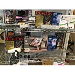 REVLON SALON ONE-STEP HAIR DRYER & VOLUMIZER, REMINGTON HAIR ROLLERS, REMINGTON CURLER, ORAL-B PRO