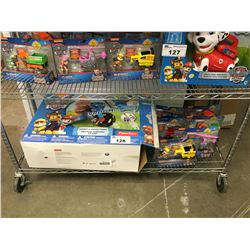 VTECH PAW PATROL LIGHTS & SOUNDS TRIKE, 6 ASSORTED PAW PATROL FIGURINES