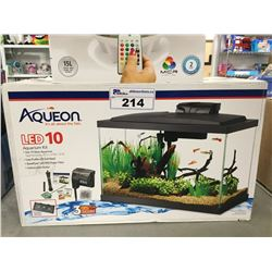 AQUEON LED 10 AQUARIUM KIT 20 X 10 X 12""
