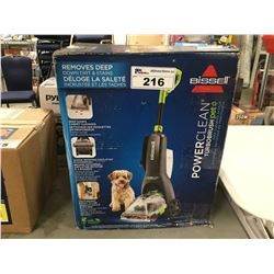 BISSELL POWERCLEAN TURBOBRUSH PET VAC