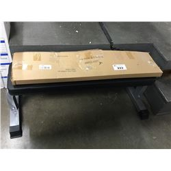 FITNESS WEIGHT LIFTING FLAT BENCH