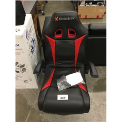 X-ROCKER GAMING CHAIR WITH SPEAKER