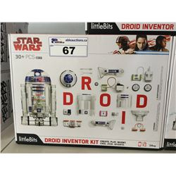 LITTLE BITS STAR WARS DROID INVENTOR KIT (MISSING PIECES)