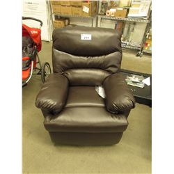 ACME BROWN BONDED LEATHER ARCADIA RECLINER