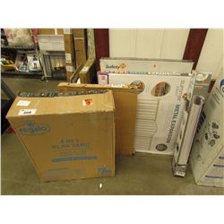 LOT OF BABY/PET SAFETY GATES