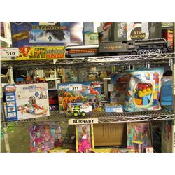 THOMAS & FRIENDS SANTAS WORKSHOP EXPRESS, PLAYMOBIL THE EXPLORERS, MEGA BLOKS, PLAYMOBIL ADVENTS