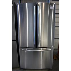 STAINLESS STEEL SAMSUNG TWO DOOR REFRIGERATOR WITH PULL OUT BOTTOM FREEZER