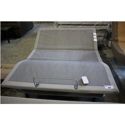 QUEEN SIZED TEMPUR-PEDIC TEMPUR-ERGO PLUS ELECTRIC ADJUSTABLE BED WITH WIRELESS