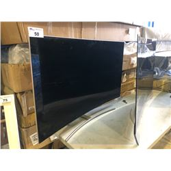 "SAMSUNG 55"" CURVED TV MODEL # QN55Q7CAMF - NEEDS SAMSUNG CONNECT"