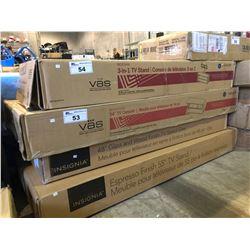 "VAS 54"" TV CONSOLE MODEL #BBCAVC54-SMB"