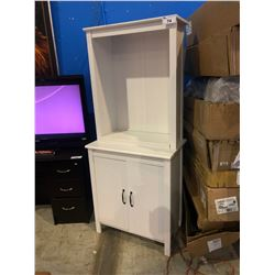 WHITE WOOD STORAGE UNIT