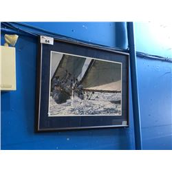 FRAMED PRINT - OUT FOR A SAIL
