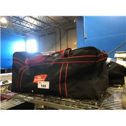 BAG OF ASSORTED BACKPACKS, BAGS & COOLER BAGS