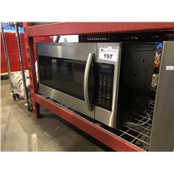 SAMSUNG STAINLESS STEEL OVER RANGE MICROWAVE - ME18H704SFS/AC