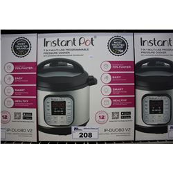 INSTANTPOT IP-DUO80 V2 7-IN-1 8 QUART PRESSURE COOKER