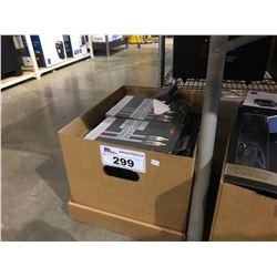 BOX OF ASSORTED ROCKETFISH CABLES, HDMI SELECTORS & MORE