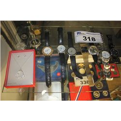 COLLECTION OF WATCHES AND JEWELLERY