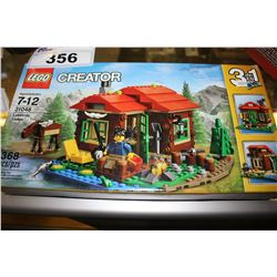 LEGO CREATOR - LAKESIDE LODGE LEGO KIT (368 PCS)