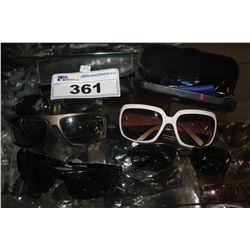 COLLECTION OF SUNGLASSES INCLUDING RAY BAN