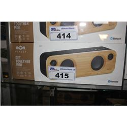 MARLEY GET TOGETHER MINI PORTABLE BLUETOOTH AUDIO SYSTEM