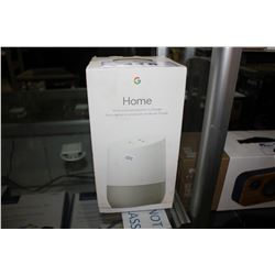 HOME BY GOOGLE VOICE-ACTIVATED SPEAKER
