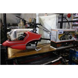 RAPTOR SERIES RC HELICOPTER WITH SPEKTRUM DX7 AIRCRAFT SYSTEM