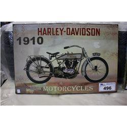HARLEY DAVIDSON 1910 MOTORCYCLES CANVAS PRINT