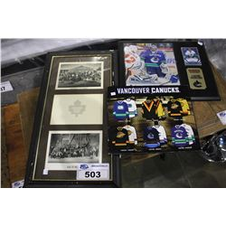 COLLECTION OF VANCOUVER CANUCKS ARTWORK