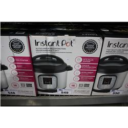 INSTAPOT IP-DUO80 V2 7-IN-1 8 QUART PRESSURE COOKER