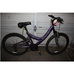 PURPLE SPORTEK INNOVATION 21-SPEED MOUNTAIN BIKE