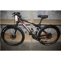 BLACK NORTHROCK 21-SPEED MOUNTAIN BIKE WITH DISC BRAKES