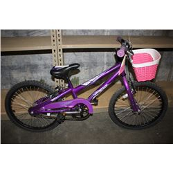 PURPLE NORCO DAISY CHILD'S BIKE