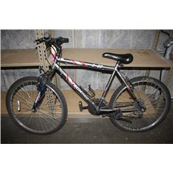 GREY/RED TECHPRO B-52 18-SPEED MOUNTAIN BIKE