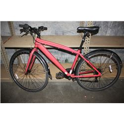 RED SPINFIT700C 21-SPEED ROAD BIKE