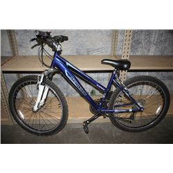 BLUE SCHWINN SUSPEND 21-SPEED MOUNTAIN BIKE