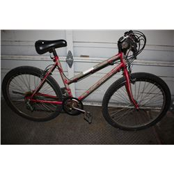 RED 12-SPEED MOUNTAIN BIKE