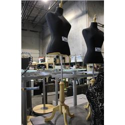 MANNEQUIN TORSO ON STAND