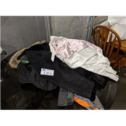 ASSORTED JACKETS AND CLOTHING