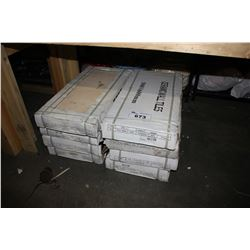 8 BOXES OF CERAMIC WALL TILE 300X600MM