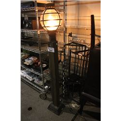 LIGHT POST, CANDLE STANDS, MINI CHAIR AND MORE DECOR