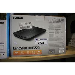 CANOSCAN LIDE 220 COLOR IMAGE SCANNER