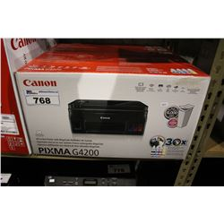 CANON PIXMA G4200 ALL IN ONE WIRELESS PRINTER WITH MEGATANK REFILLABLE INK SYSTEM
