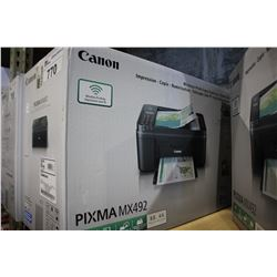 CANON PIXMA MX492 ALL IN ONE WIRELESS PRINTER