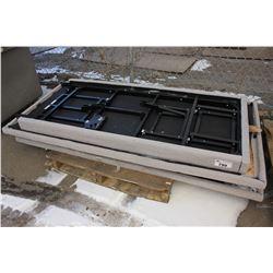 2 TEMPURPEDIC ELECTRIC ADJUSTABLE BEDS - PARTS