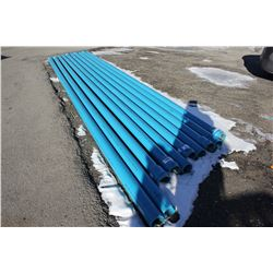 "10 4""/100MM PVC PIPES APPROX 15'"