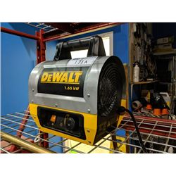 DEWALT 1.65 AW ELECTRIC FORCE AIR HEATER