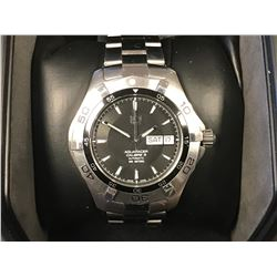 TAG HEUER AQUARACER MENS AUTOMATIC STAINLESS STEEL WATCH