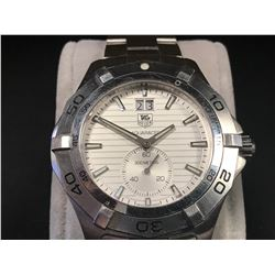 TAG HEUER AQUARACER SILVER DIAL STAINLESS STEEL MENS  WATCH